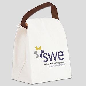 SWE Aspire, Advance, Achieve Canvas Lunch Bag