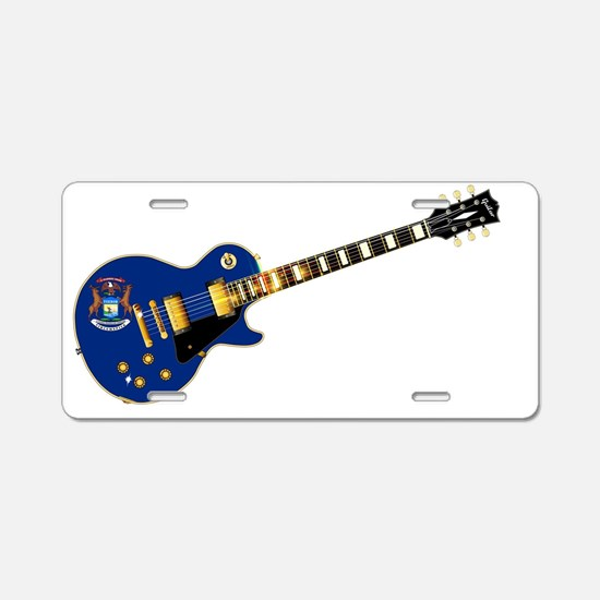 Funny Gibson Aluminum License Plate
