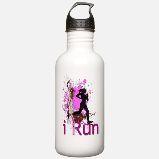 iRun Decorative Water Bottle