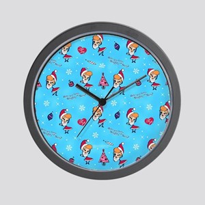 I Love Lucy: Christmas Pattern Wall Clock