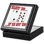 Bluff Texas Hold 'em Keepsake Box