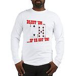 Bluff Texas Hold 'em Long Sleeve T-Shirt