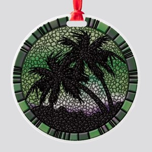 Palms Round Ornament