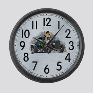 Betty's Bomb Large Wall Clock