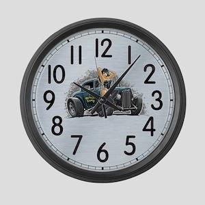 Betty's Bomb Large Wall Clock
