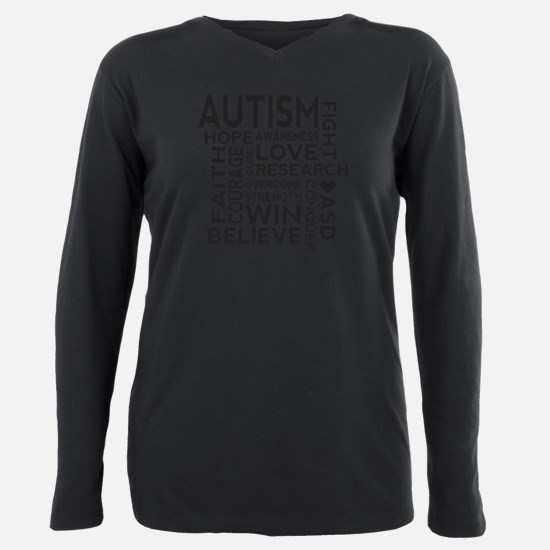Autism Word Cloud T-Shirt