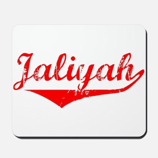 Jaliyah Vintage (Red) Mousepad