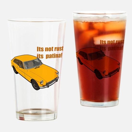 Funny Mgb Drinking Glass