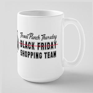 Black Friday Shopping Team Mugs