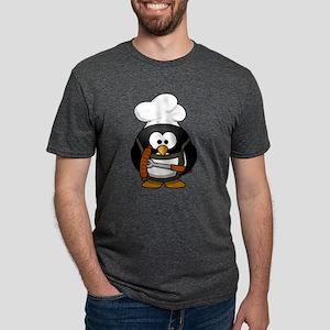 Funny Cartoon Grilling Penguin T-Shirt