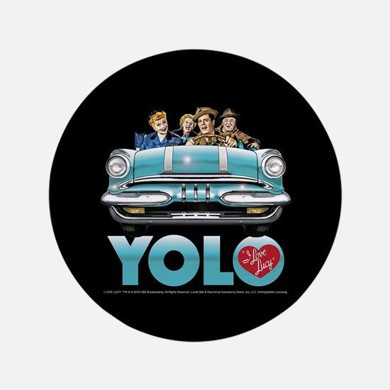 I Love Lucy: YOLO Button