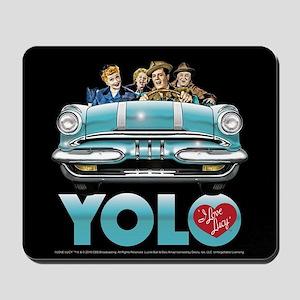 I Love Lucy: YOLO Mousepad