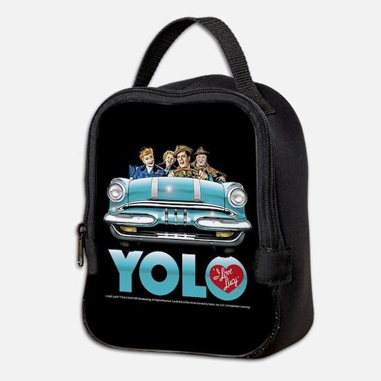 I Love Lucy: YOLO Neoprene Lunch Bag