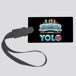 I Love Lucy: YOLO Large Luggage Tag