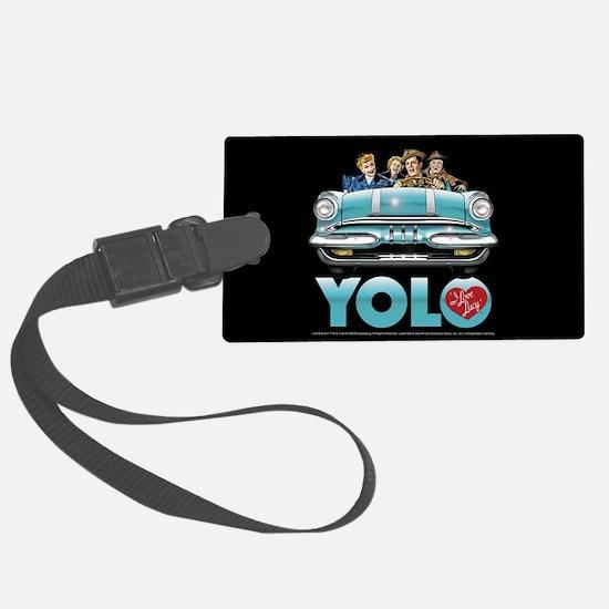 I Love Lucy: YOLO Luggage Tag