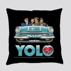 I Love Lucy: YOLO Everyday Pillow