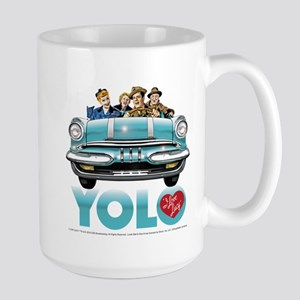 I Love Lucy: YOLO Large Mug