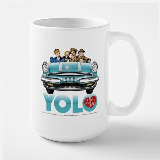 I Love Lucy: YOLO Large Mug