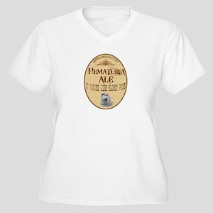 Hematuria Ale Women's Plus Size V-Neck T-Shirt