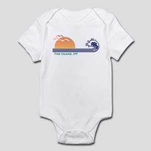 Fire Island NY Infant Bodysuit