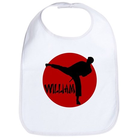 William Karate Bib