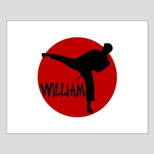 William Karate Small Poster