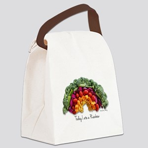 Rainbow Canvas Lunch Bag