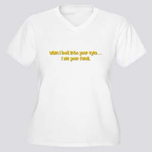 I see your fundi Women's Plus Size V-Neck T-Shirt