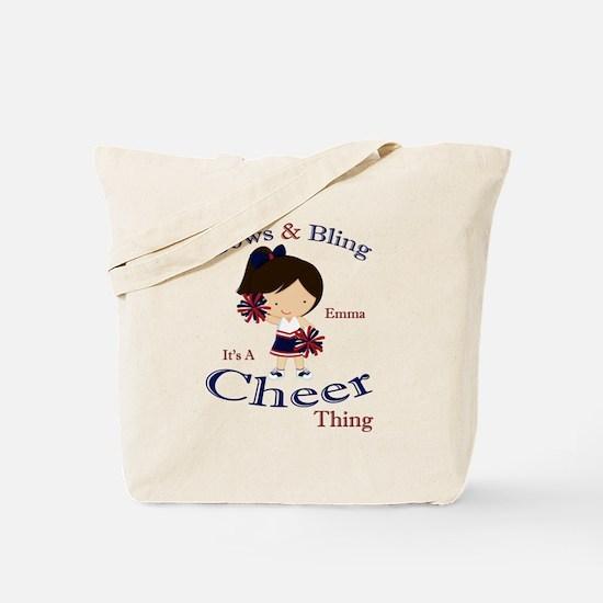 Cute Kids cheer Tote Bag