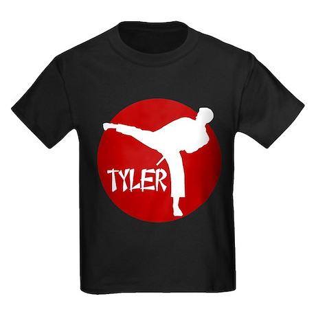 Tyler Karate Kids Dark T-Shirt