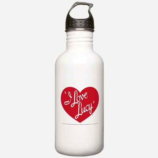 I Love Lucy: Logo Sports Water Bottle