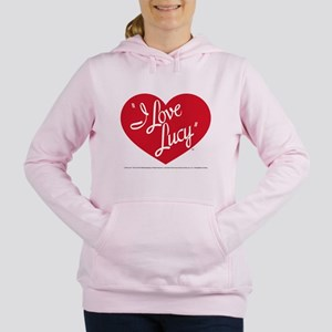 I Love Lucy: Logo Women's Hooded Sweatshirt