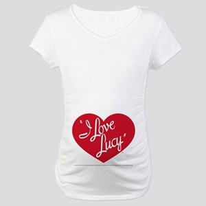 I Love Lucy: Logo Maternity T-Shirt