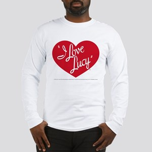 I Love Lucy: Logo Long Sleeve T-Shirt