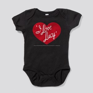 I Love Lucy: Logo Baby Bodysuit