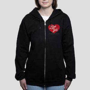 I Love Lucy: Logo Women's Zip Hoodie
