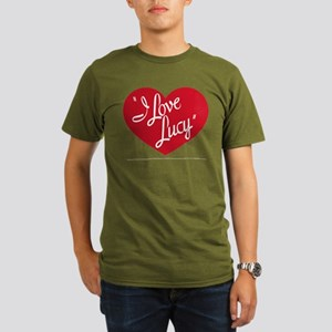 I Love Lucy: Logo Organic Men's T-Shirt (dark)