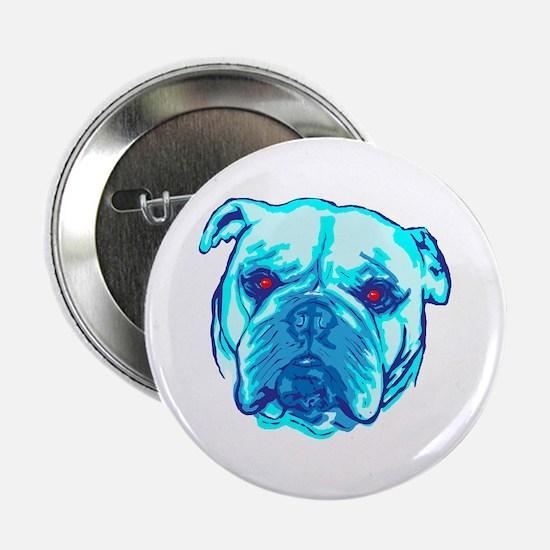 """Zombie Bulldog 2.25"""" Button"""