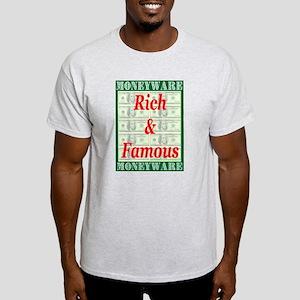 Rich & Famous Ash Grey T-Shirt