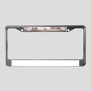 Monument Valley License Plate Frame