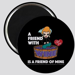 I Love Lucy: Wine Friend Magnet