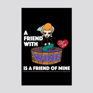 I Love Lucy: Wine Friend Mini Poster Print