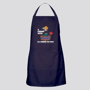 I Love Lucy: Wine Friend Apron (dark)