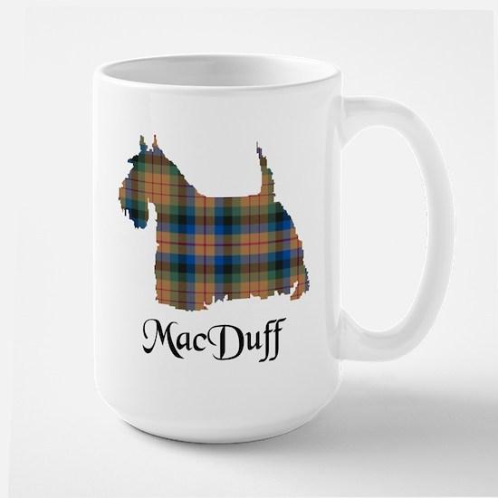 Terrier-MacDuff hunting Large Mug