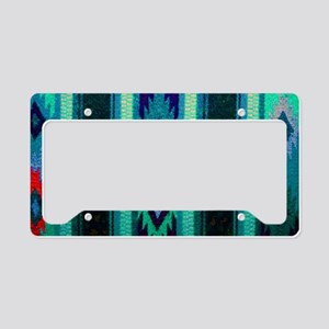 Indian Blanket License Plate Holder