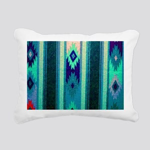 Indian Blanket Rectangular Canvas Pillow