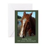 Horse birthday Greeting Cards