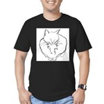 contented cat .11x11 T-Shirt
