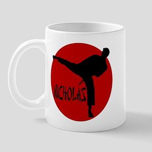 Nicholas Karate Mug