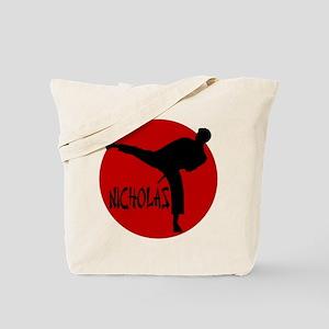 Nicholas Karate Tote Bag